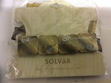 Solvar Celtic gold bracelet . With protective carrying pouch. Reduced