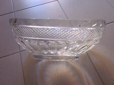 COUPE OVALE CRISTAL TAILLE LONG 40 HAUT 15 LARG 20