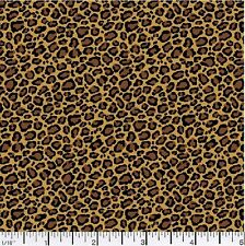 Animal Print Cotton Quilting Fabric,  By the Yard #256-8