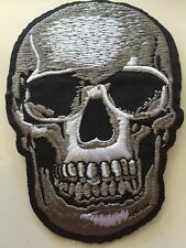 "Son Of Anarchy 3D skull Iron/Sew on Embroidered Patch Applique Badge 2.5""X3.5"""