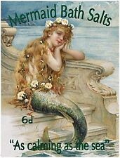 Mermaid Bath Salts fridge magnet   (og)