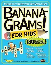 BANANAGRAMS For Kids Word Games Skills Puzzle Book NEW Quiz