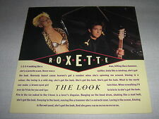 "ROXETTE MAXI 12"" GERMANY THE LOOK"