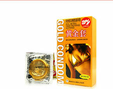 300 PCS GOLD CONDOMS PREMATURE EJACULATION FROM MOST  PEOPLE COUNTRY