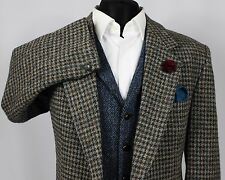 Mens Harris Tweed Blazer Jacket Wedding Country 42S EXCEPTIONAL GARMENT 369