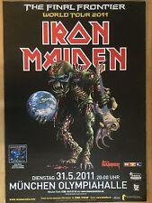 IRON MAIDEN  2011  MÜNCHEN -- orig.Concert Poster - Konzert Plakat A1 xx