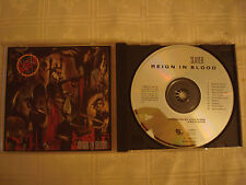 SLAYER-REIGN IN BLOOD CD DEF JAM 1986 1ST ISSUE