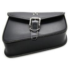 PU Leather Left Side Saddlebag Saddle Bag For Harley Sportster XL 883 XL 1200