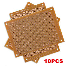 10PC New DIY PCB Universal Prototype Paper Matrix Circuit Board Stripboard 5x7CM