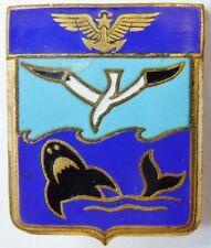 Insigne Aéronavale Flottille 23 F émail Drago Paris  ORIGINAL Marine France