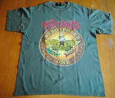 90's Aerosmith Vintage Rock T- Shirt, Men's Size L, Used, Good Con., Made in Usa