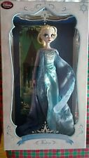 """disney store limited edition first frozen doll snow Queen 17"""" elsa"""