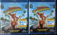 Beverly Hills Chihuahua (Blu-ray/DVD,2011, 2-Disc Set) FREE SHIP!! CHECK DETAILS