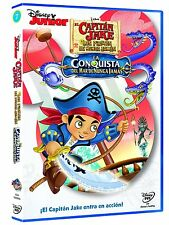 Captain Jake and the Neverland Pirates:Great Never Sea Conquest **Dvd R2**