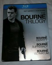 The Bourne Trilogy | Blu-ray | Mint Cond. | Action (Matt Damon, Paul Greengrass)