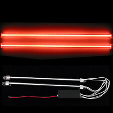"2Pcs 12"" Car Red Undercar Underbody Neon Kit Lights CCFL Cold Cathode Tube"