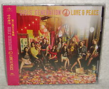 Girls' Generation LOVE & PEACE 2013 Taiwan CD only (3rd Japanese Album)