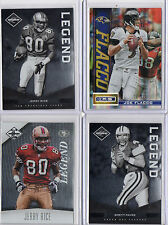 2012 LIMITED LEGEND #d 335/349 JERRY RICE 49ERS HOF THE GOAT AWESOME CARD BV$8