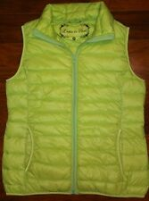 L'AMIE DE PARIS Packable Lightweight Down Puffer Vest Jacket WOMENS MEDIUM SMALL