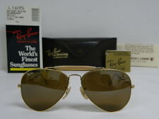 New Vintage B&L Ray Ban Outdoorsman Driving Arista B15 TGM L1695 58mm USA NOS