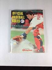 1997 The Sporting News, Official Baseball Rules, Paperback, Excellent Cond.