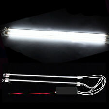"2Pcs 12"" Car White Undercar Underbody Neon Kit Lights CCFL Cold Cathode Tube"