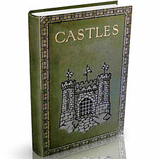 Fortresses Castles & Cathedrals Books on DVD Keeps Abbeys Architecture History