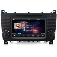 DVD GPS Player system sat nav for Mercedes Benz C Class CLK CLC W203 W209 AMG