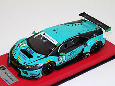 1/18 Looksmart MR Lamborghini Huracan GT3 24h Daytona 2016 #28 Konrad Leather