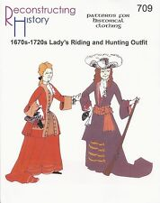 Schnittmuster RH 709 Paper Pattern Lady's Riding and Hunting Outfit