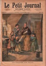 New Year Gifts to Children Etrennes aux Enfants Paris France 1894 ILLUSTRATION