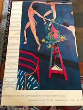 Rare Matisse Poster 1973 National Gallery Exhibition Art Post-Impressionism USSR