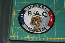 France Police Nationale Brigade Anti-Criminalite BAC de Nuit  77 Shoulder Patch