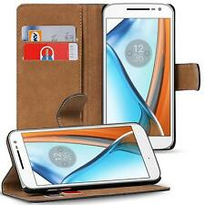 Klapptasche für Lenovo Moto G4 / G4 Plus Handy Hülle Case Flip Cover Wallet Etui
