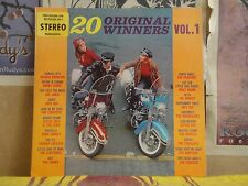20 ORIGINAL WINNERS VOL 1 - LP R 25249 MOTORCYCLE CLEFTONES BLAND PENGUINS CROWS