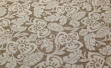 "MAGNOLIA HOME AMAZON COFFEE LINEN BROWN FURNITURE FABRIC BY THE YARD 56""W"