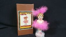 Vintage Vandor Toys In The Cupboard Carnival Doll Bobber Pink 1997