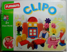 PLAYSKOOL VTG 1991 STICKLE BRICKS CLIPO WORLD # 1648 46 Pcs SFINOTOUBLAKIA MIP