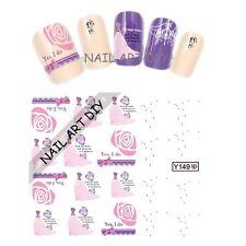 Nail Water Transfer Stickers-Adesivi-Proposta di Matrimonio-Ricostrzione Unghie