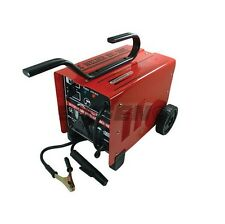 HEAVY DUTY 60 - 200A AMP ARC WELDER WELDING KIT WITH WHEELS DUAL VOLTAGE 240V