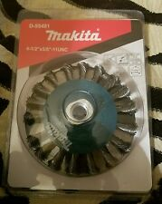 """MAKITA D-55491 4 1/2"""" X 5/8""""-11 UNC KNOT TWIST WIRE WHEEL"""
