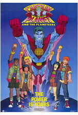 CAPTAIN PLANET AND THE PLANETEERS Movie POSTER PRINT 27x40