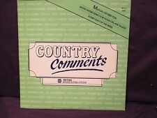 Country Comments  LP Interview Reba McEntire/The Judds NOV 10 1986