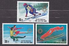 KOREA Pn. 1983 MNH** SC#2320/22 set, Winter Olympic Games, Sarajevo 1984