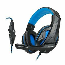 ENHANCE GX-H2 Stereo Gaming Headset with Comfortable Ear Pads & Adjustable Mic