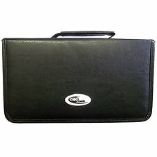 120 Sleeve CD DVD Blu Ray Disc Carry Case Holder Bag Wallet Storage Leather- Neo
