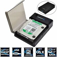 Hard Drive Lay-Flat Docking Station USB 3.0 to SATA (EC-DFLT) Sabrent