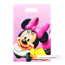 12 Minnie Mouse Baby Disney Birthday Party Supply Fillers Decoration Gift Bags