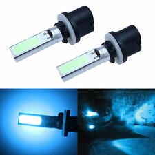 2x 880 High Power 10W Ice Blue COB LED Fog Lights Daytime Running Bulb 890 Lamp
