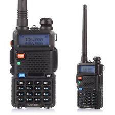 A+ Walkie Talkie 2-Way Radio Long Range VHF/UHF Transceiver Compact Handheld Set
